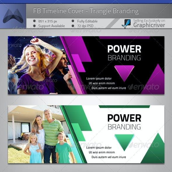FB Timeline Cover - Power Triangle Branding