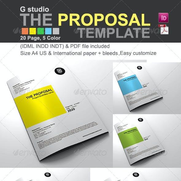 Gstudio The Proposal Template