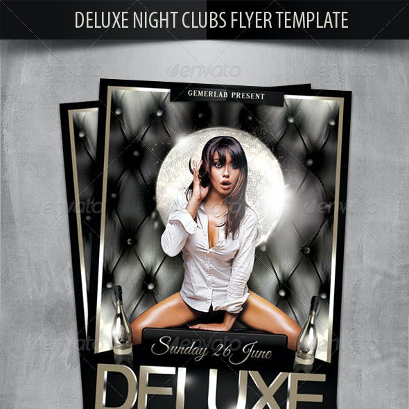 Deluxe Night Club Party Flyer Template