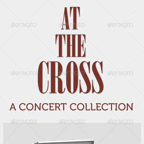 At The Cross Concert Collection Banner Dvd Flyer
