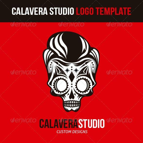 Calavera Studio Logo Template