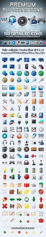 Premium All-Round Icons - Miscellaneous Icons