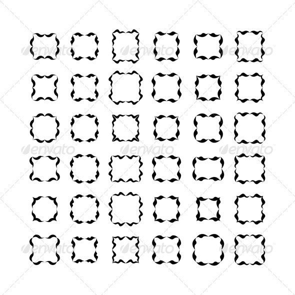 Decorative Frames Set 3 - Decorative Symbols Decorative