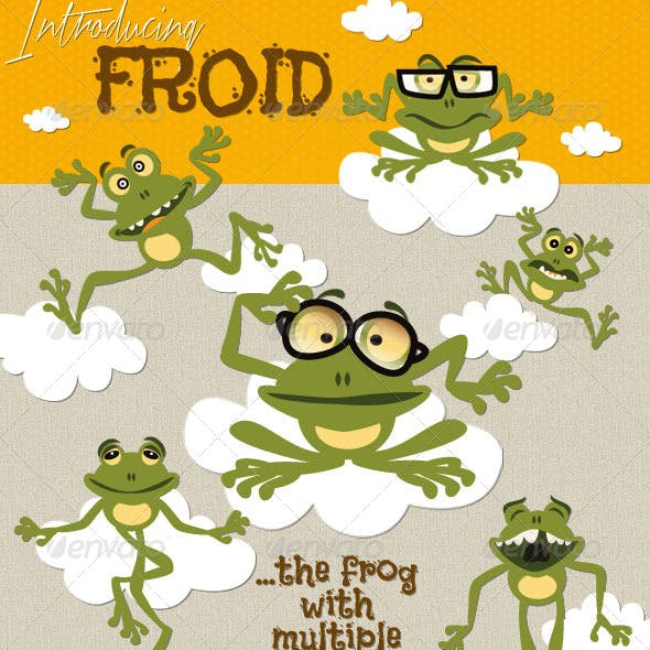 A Frog Called Froid - Editable Animal Character