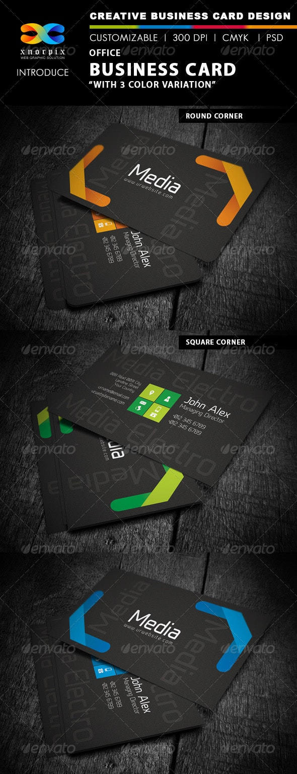 Office Business Card - Creative Business Cards