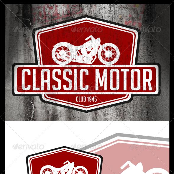 Classic Motor Logo Templates