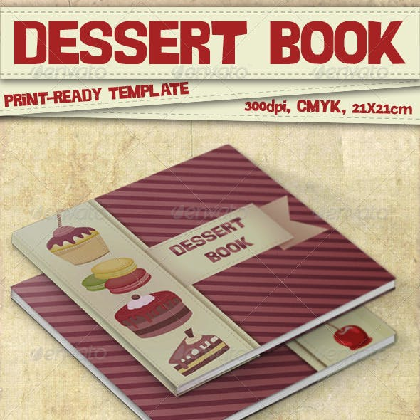 Dessert Book Template