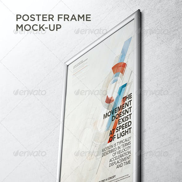 Poster Frame Mock-Up