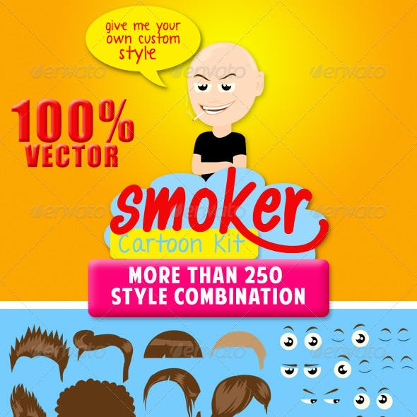 Smoker Vector Kit
