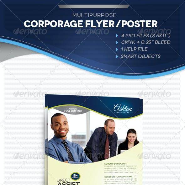 Multipurpose Corporate Flyer / AD / Poster