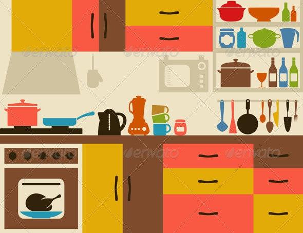 Kitchen - Miscellaneous Vectors