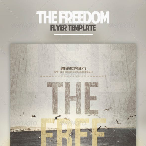 The Freedom Flyer Template