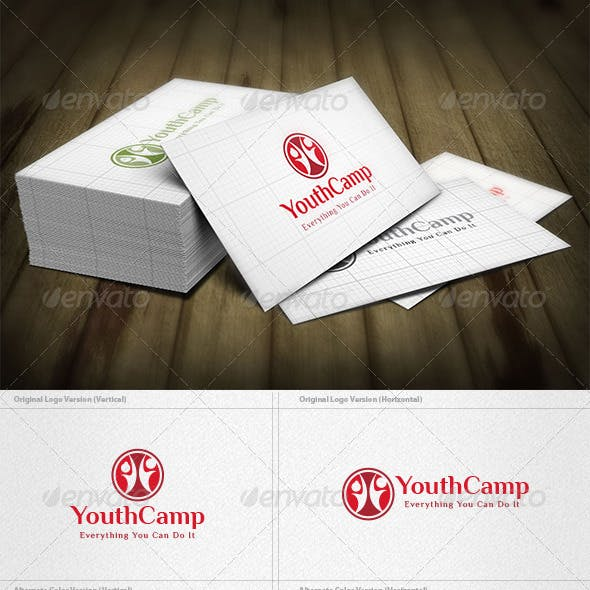 Youth Camp Logo