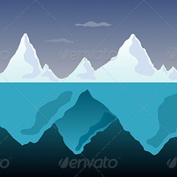 Arctic Iceberg Landscape