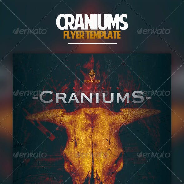 Craniums Flyer Template