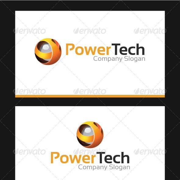Power Tech Logo Template