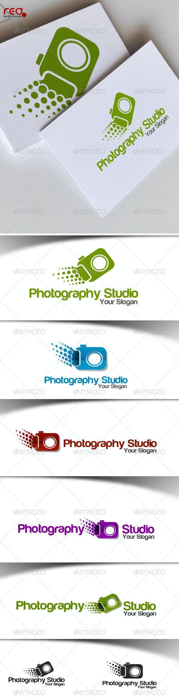 Photography Studio Logo - Vector Abstract