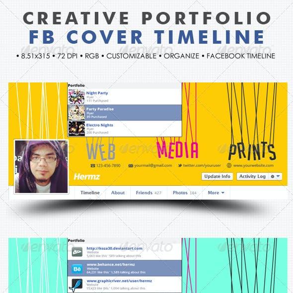 Creative Portfolio Facebook Cover