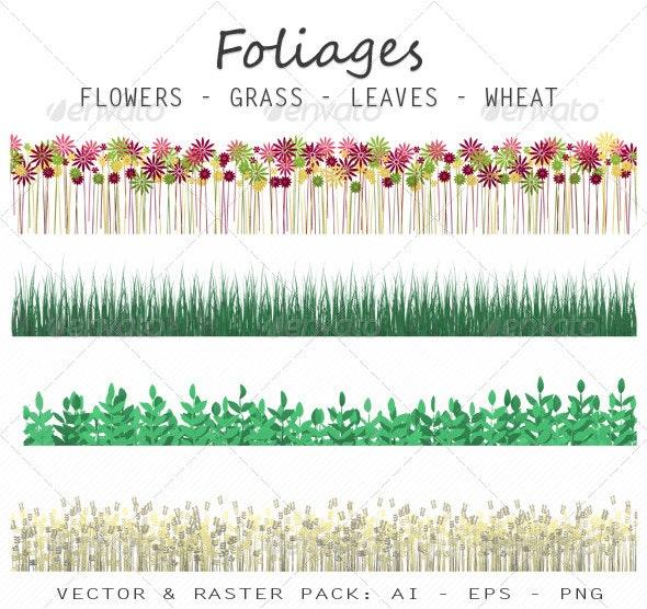 Foliages - Flowers & Plants Nature
