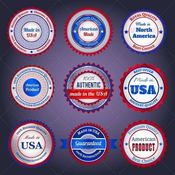 Labels and Stickers on Made in the USA