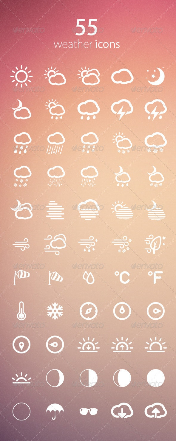 Weather Icons - Icons
