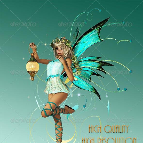 Turquoise Pixie