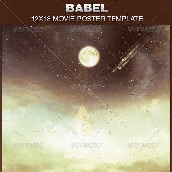 Babel Movie Poster Template