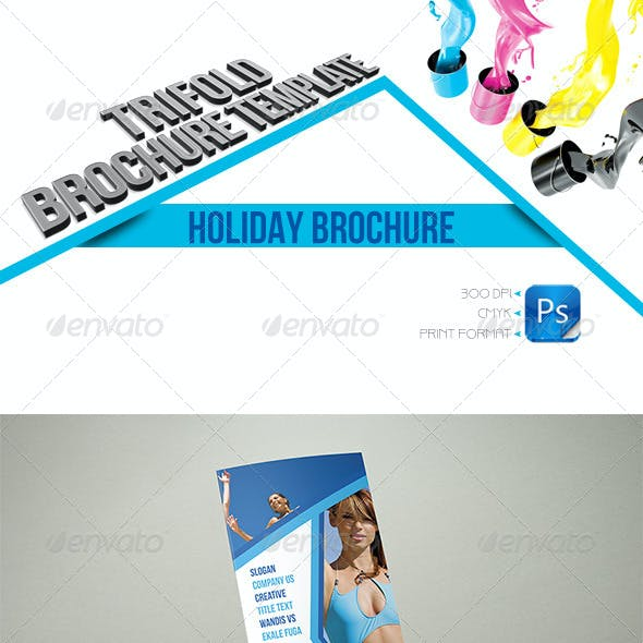 Holiday Trifold Template