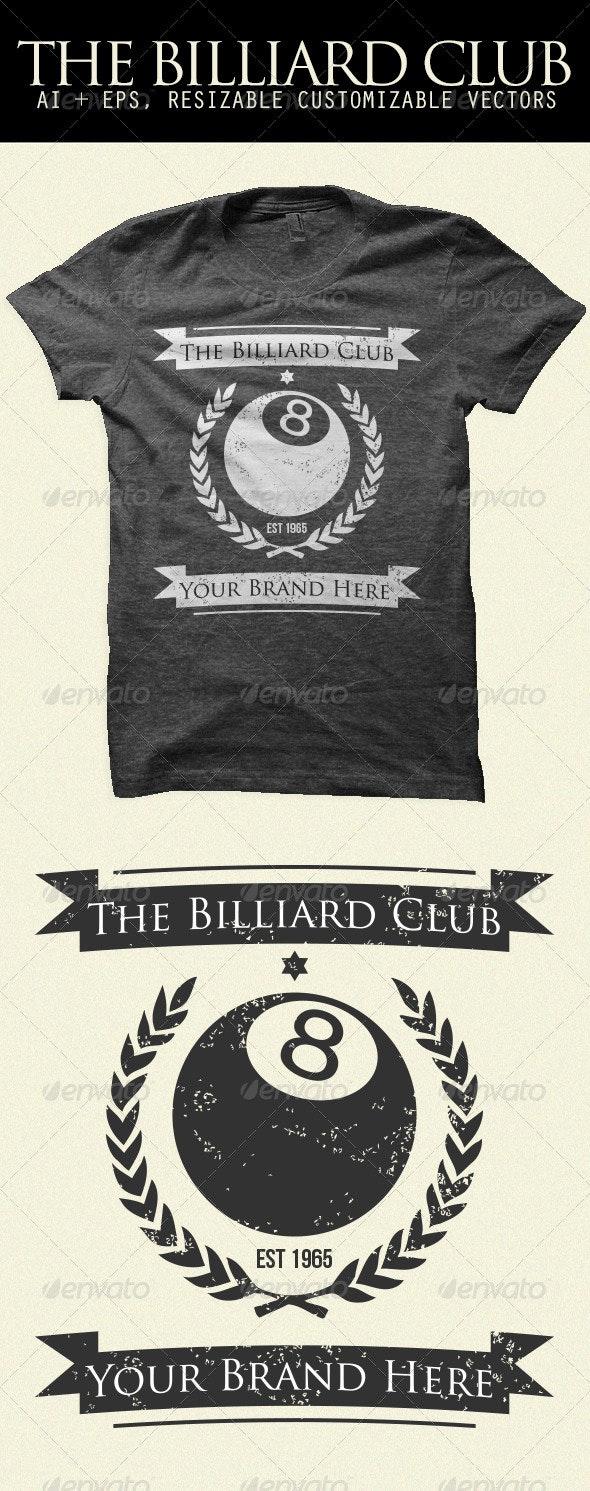 The Billiard Club Shirt - Sports & Teams T-Shirts