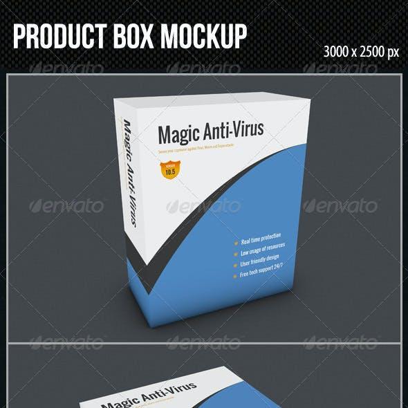 Product Box Mockup