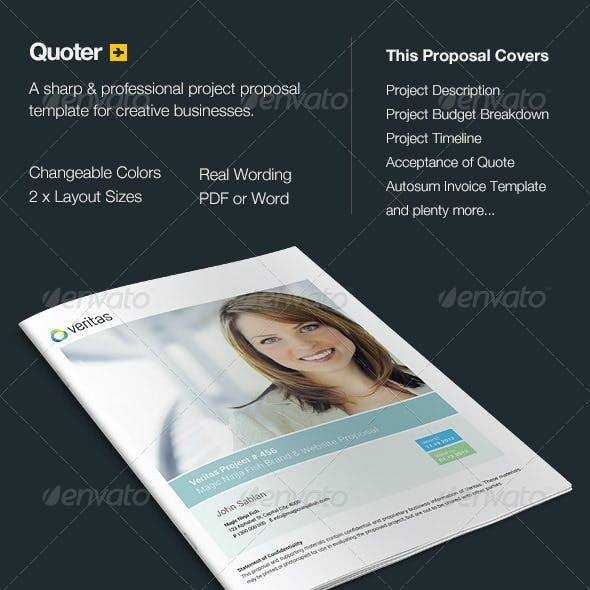 Quoter - Proposal & Invoice Template