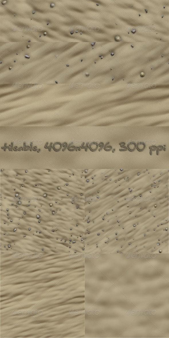 4 Beach Sand Textures - Nature Textures