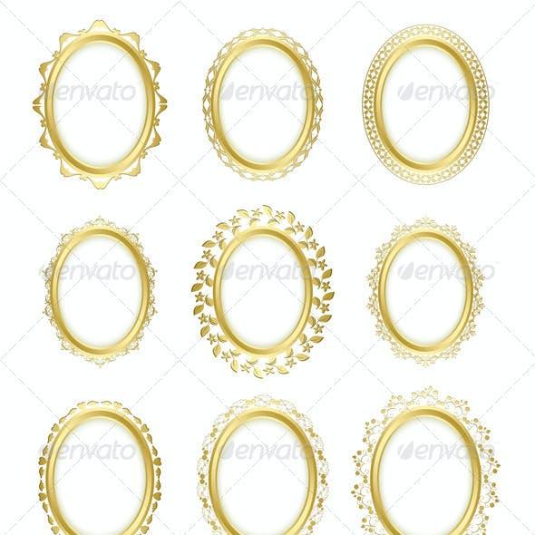 Gold Decorative Frames