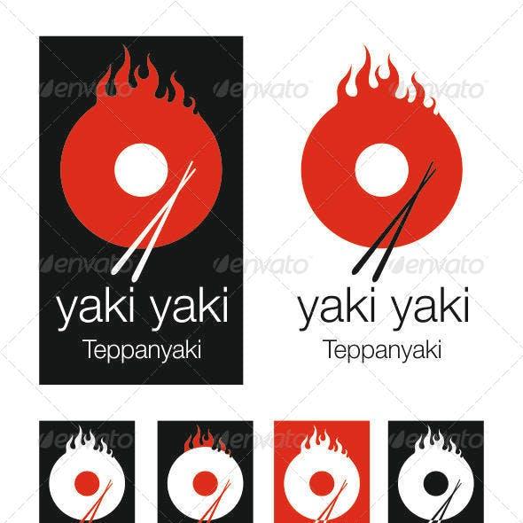 Teppanyaki Japanese Restaurant Logo