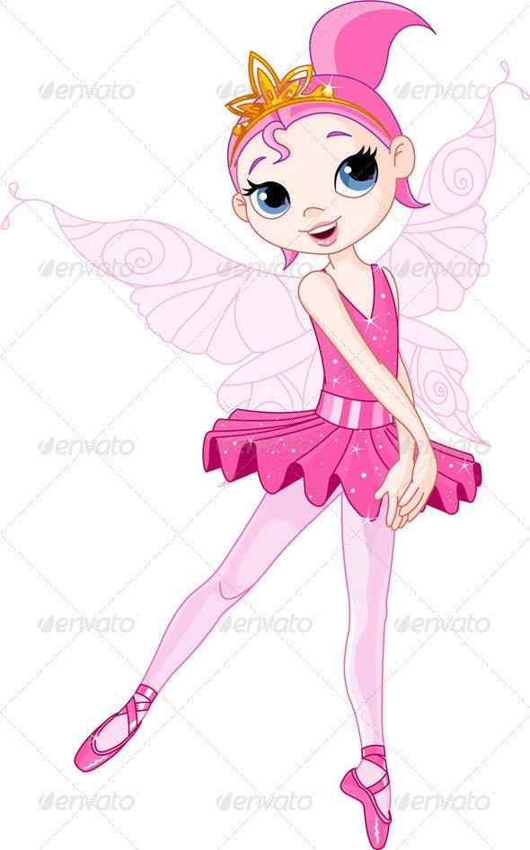 Dancing  Ballerina - People Characters