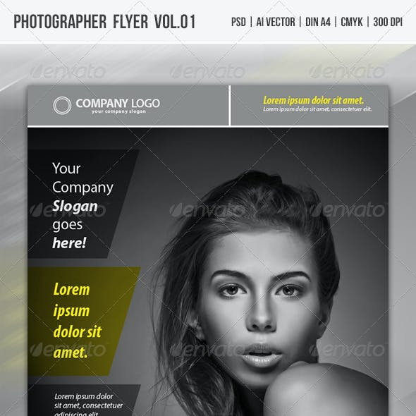 Photographer Promotion Flyer