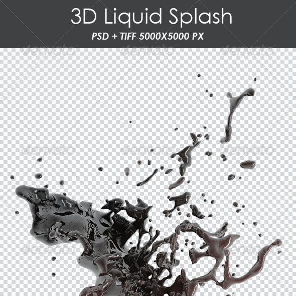 3D Liquid Splash