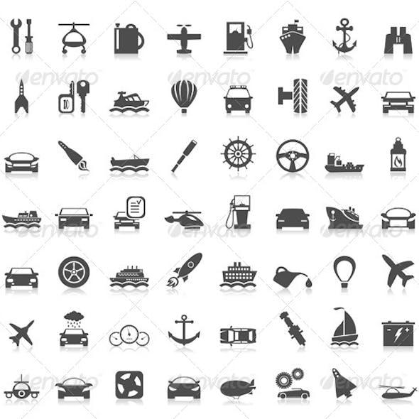 Transport Icons 6