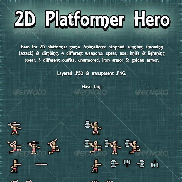 2D Platformer Hero