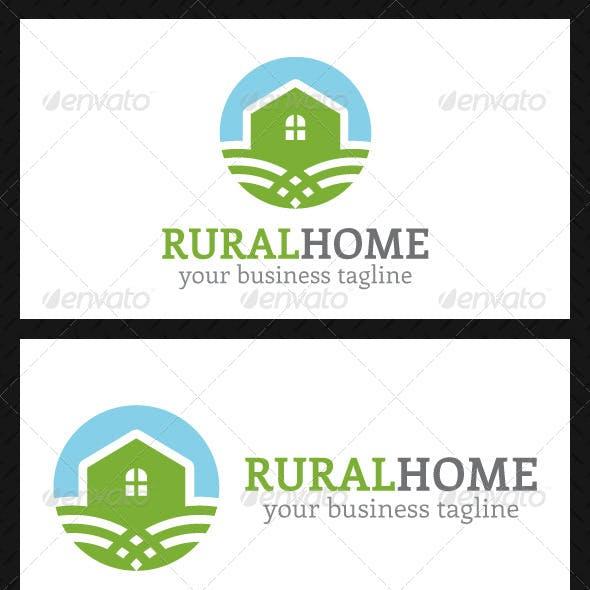 Rural Home Logo Template