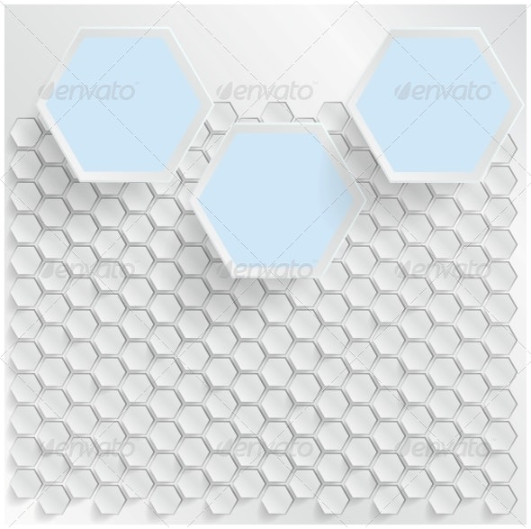 Vector Abstract Background Hexagon by ikatod | GraphicRiver