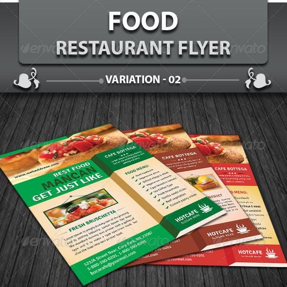 Restaurant Business Flyer | Volume 4