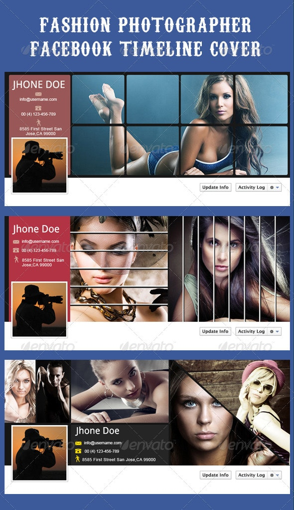 Fashion Photographer Facebook Timeline Cover - Facebook Timeline Covers Social Media