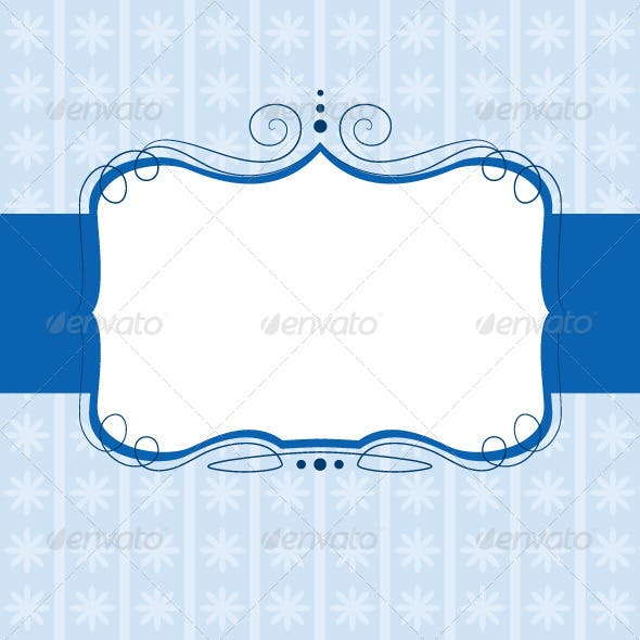 Retro Swirl Banner