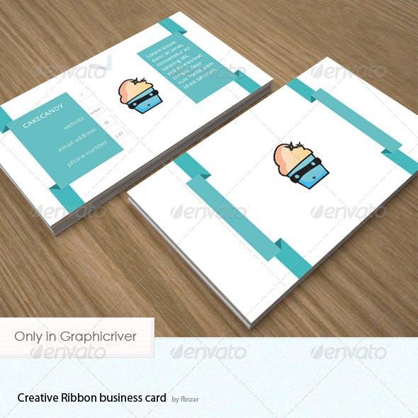 Creative Ribbon - Business Card