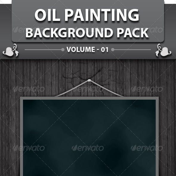 25 Oil Painting Background Pack