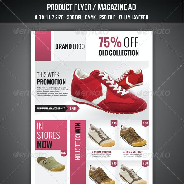 Product Flyer / Magazine AD