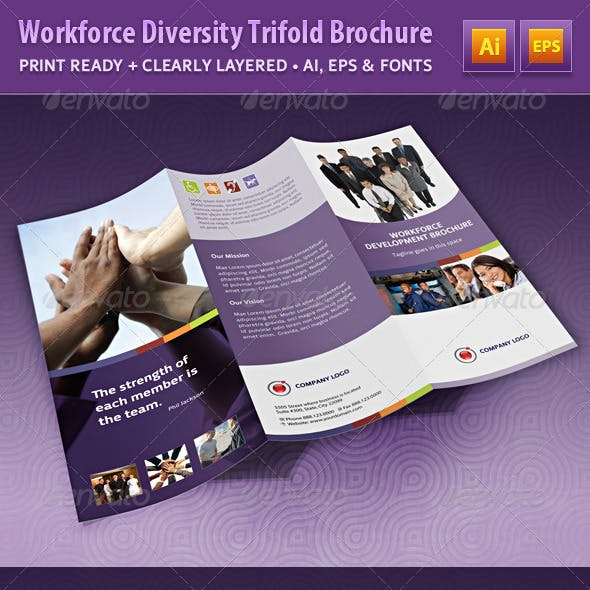 Workforce Diversity Trifold Brochure
