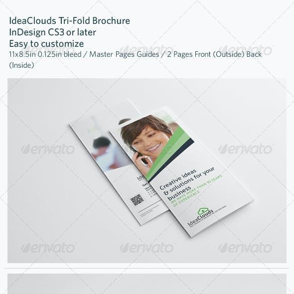 IdeaClouds Tri-Fold Brochure