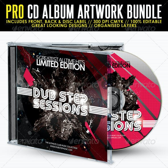 Album Covers and CD Graphics, Designs & Templates